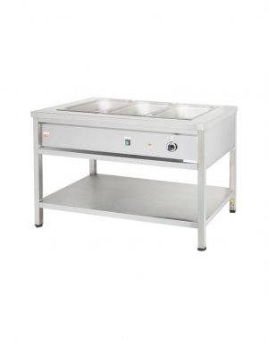 Výdajný ohrievací stôl - 1,8 kW | VOSE15