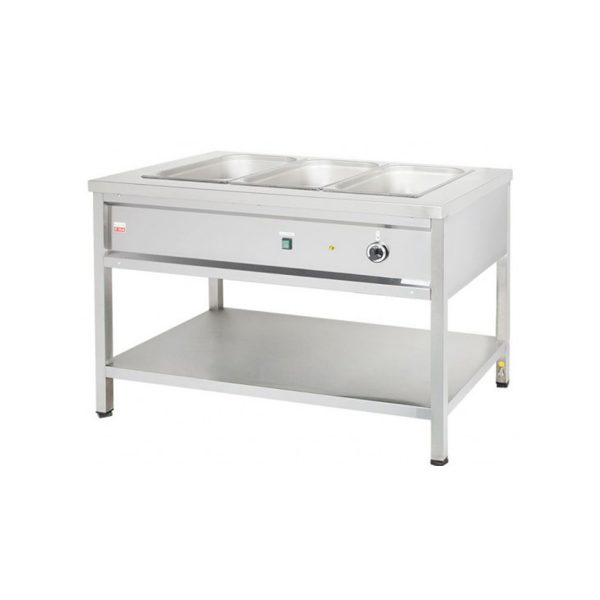 Výdajný ohrievací stôl - 1,05 kW | VOSE8