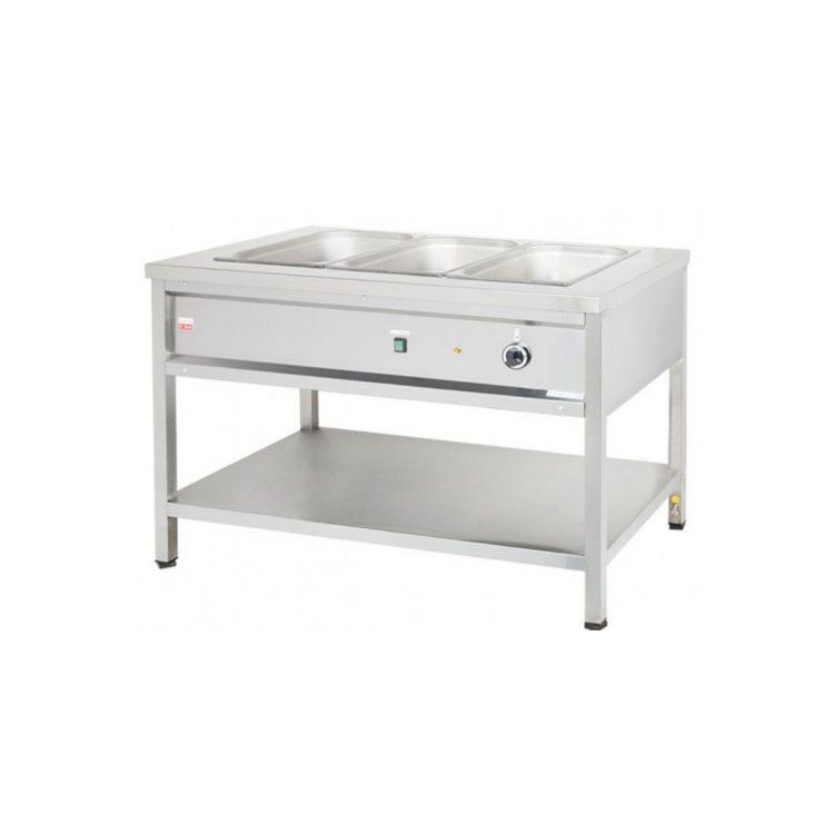 Výdajný ohrievací stôl - 1,05 kW  VOSE8/ZD