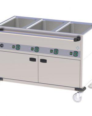 Vodná kúpeľ - pojazdná - 3 x vaňa BMPD-3120 CSH