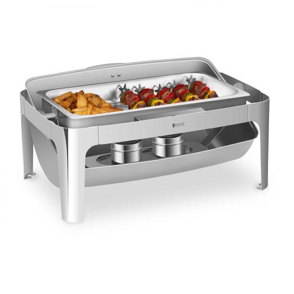 Chafing dish - 7,5 l - nehrdzavejúca oceľ | RCCD-RT9L