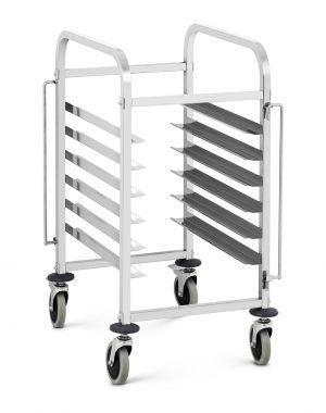 Transportný vozík - 60 kg - 6 x GN 1/1 | RCTW-6B
