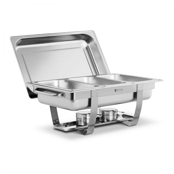 Chafing dish - 3 x GN 1/3 - 7 l | RCDB-1/3P-65