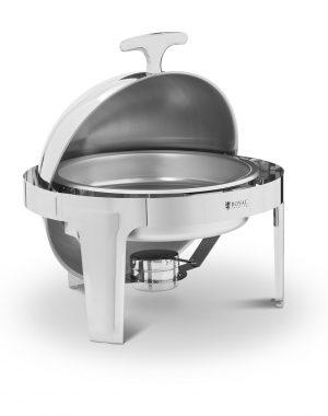 Chafing dish - okrúhly - 6 l | RCDB-6R
