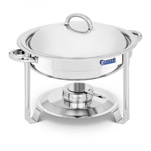 Chafing dish - okrúhly - 3,6 l | RCCD-5-60