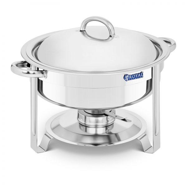 Chafing dish - okrúhly - 5,2 l | RCCD-7-100