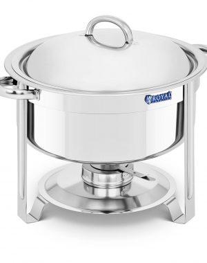 Chafing dish - okrúhly - 7,6 l | RCCD-9-120