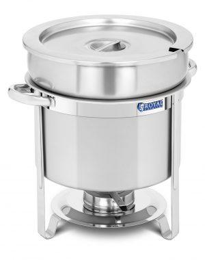 Chafing dish - okrúhly - 10,5 l | RCCD-11-220