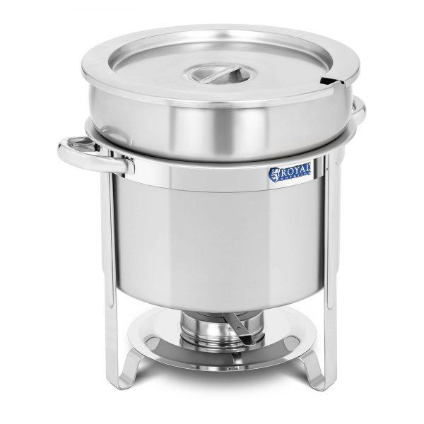 Chafing dish - okrúhly - 10,5 l   RCCD-11-220