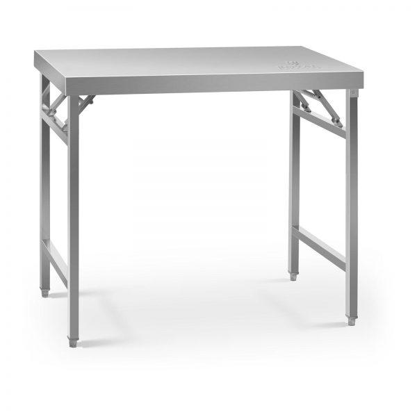 Skladací pracovný stôl - 100 x 60 cm - 200 kg | RCAT-100/60KE
