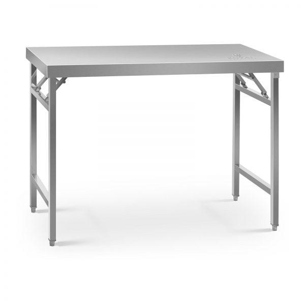 Skladací pracovný stôl - 120 x 60 cm - 210 kg | RCAT-120/60KE