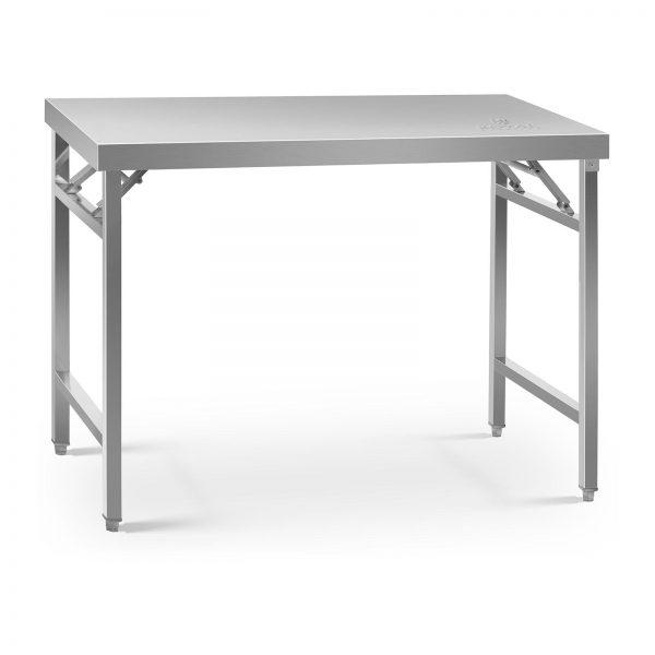 Skladací pracovný stôl - 120 x 70 cm - 215 kg | RCAT-120/70KE