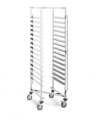 Pekárenský vozík - 150 kg - 15 políc - 600x400 mm | RCTW-15Z