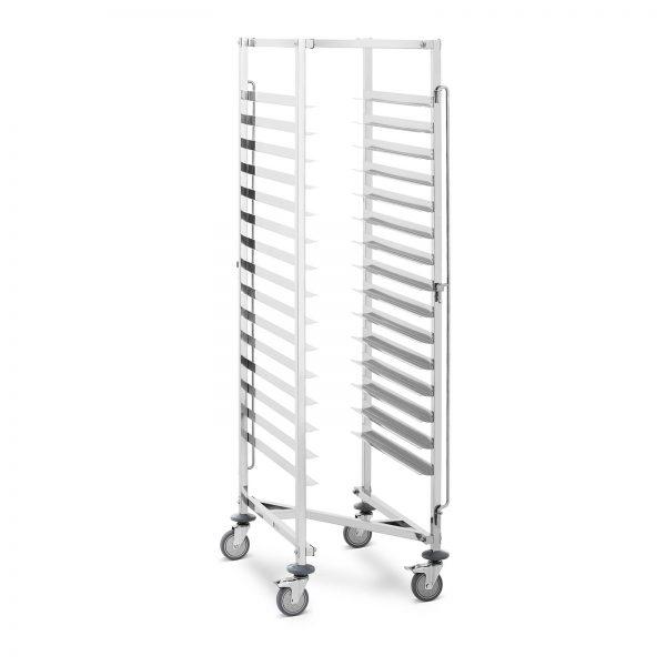 Pekárenský vozík - 150 kg - 15 políc - 600x400 mm   RCTW-15Z