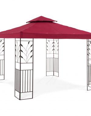 Záhradný altánok - ornament - červené víno | UNI_PERGOLA_3X3R