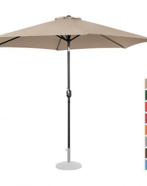 Záhradný dáždnik - Ø300 cm - krémový   UNI_UMBRELLA_TR300CR