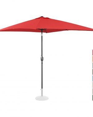 Stojaci záhradný slnečník - 200 x 300 cm - naklonený - červený | UNI_UMBRELLA_TSQ2030RE 10250134-1.jpg