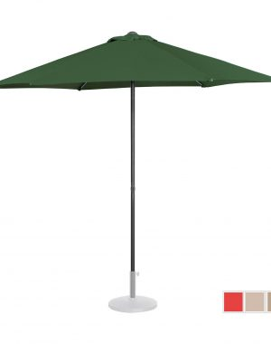 Stojaci záhradný slnečník - Ø270 cm - zelený | UNI_UMBRELLA_MR270GR 10250151-1.jpg