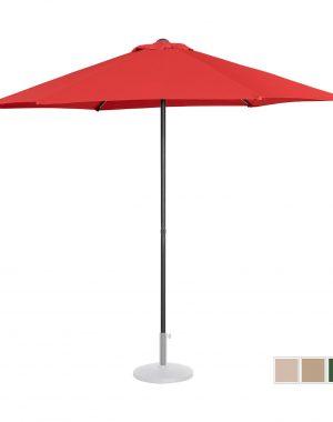 Stojací záhradný slnečník - Ø270 cm - červený | UNI_UMBRELLA_MR270RE 10250152-1.jpg