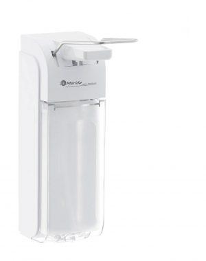 Lakťový dávkovač dezinfekcie - 1000 / 500 ml | Merida D8P 10290018-1.jpg