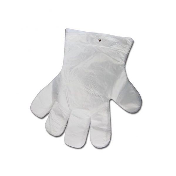 Mikroténové trhacie rukavice - 100ks - jednorázové