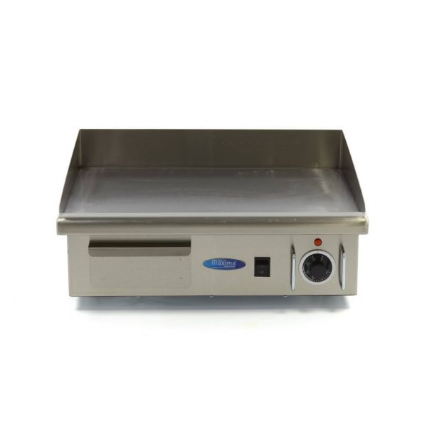 Elektrická grilovacia doska - 55cm - 3kW - hladká | MAXIMA 09300065 - 2