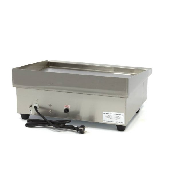 Elektrická grilovacia doska - 55cm - 3kW - hladká | MAXIMA 09300065 - 4