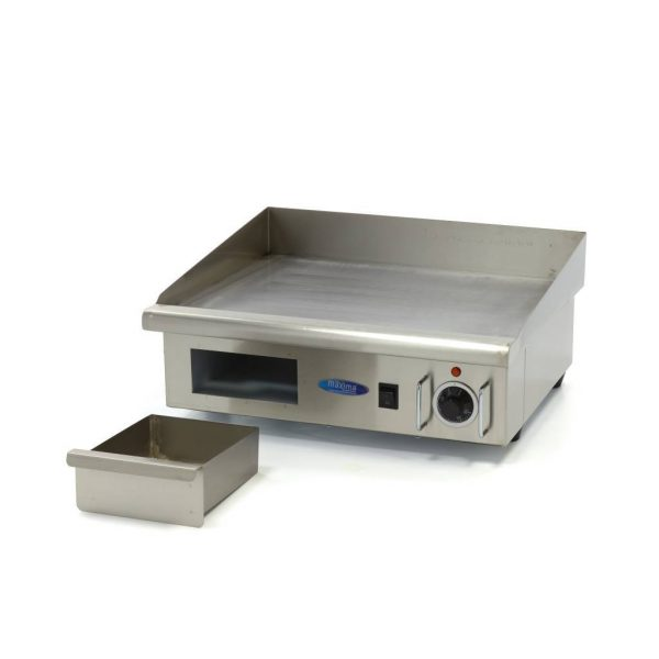Elektrická grilovacia doska - 55cm - 3kW - hladká | MAXIMA 09300065 - 5