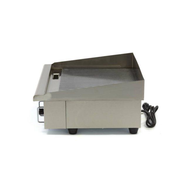 Elektrická grilovacia doska - 55cm - 3kW - ryhovaná | MAXIMA 09300070 - 3