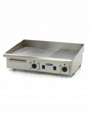 Elektrická grilovacia doska - 73cm - 4,4kW - hladká ryhovaná | MAXIMA BIG 09300080