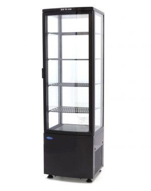 Chladiaca vitrína - 235 l - čierna | Maxima 09400816