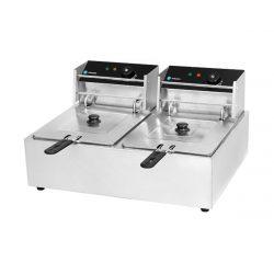 Elektrická fritéza - 2 x 6 l | HKN-FR66L