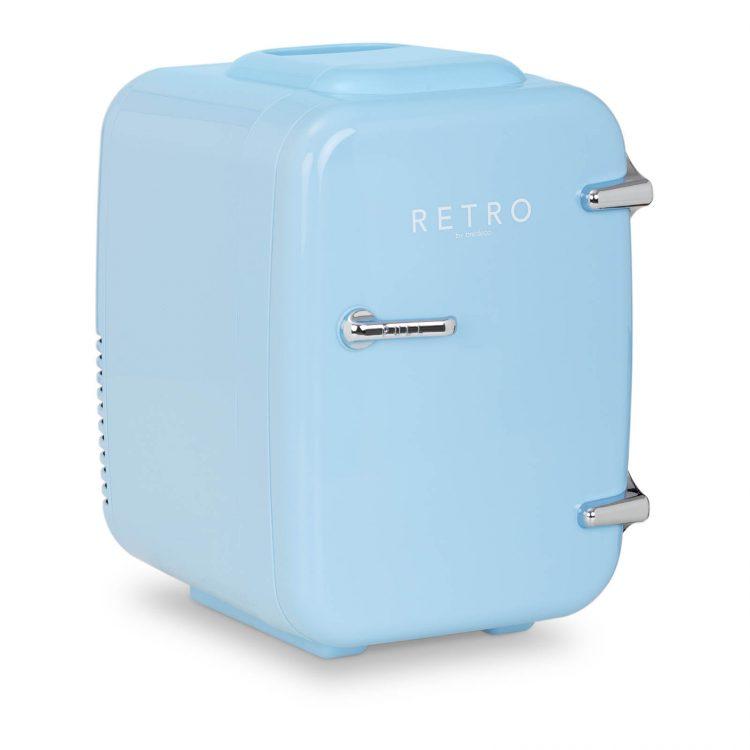 Mini chladnička - 4 l - modrá   BCMF-4L-LB