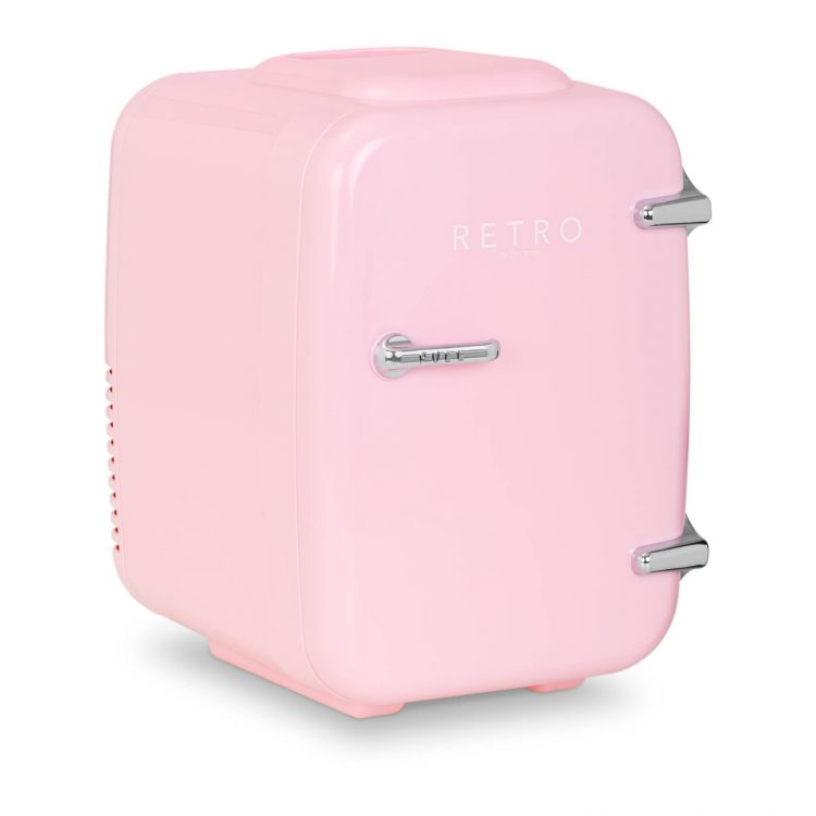 Mini chladnička - 4 l - ružová   BCMF-4L-LP