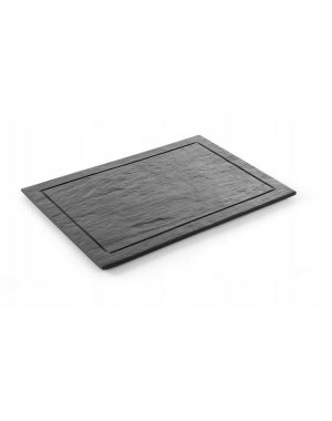 "Bridlicová doska ""Modern"" - 600x450 mm | Hendi 423868"