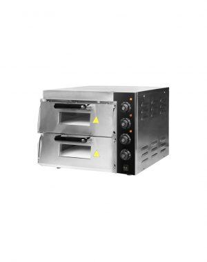 Pizza pec - 2x40 cm - 3 kW | HKN-MD11
