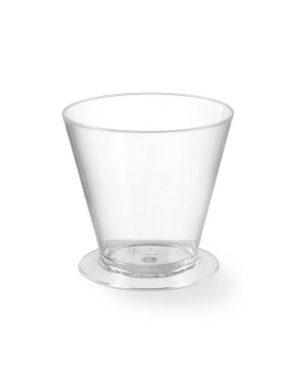 Plastové cukrárske kelímky - 135 ml - 100 ks | Hendi 560327