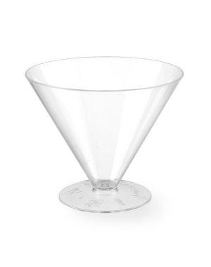 Plastové cukrárske kelímky - 165 ml - 100 ks | Hendi 560334