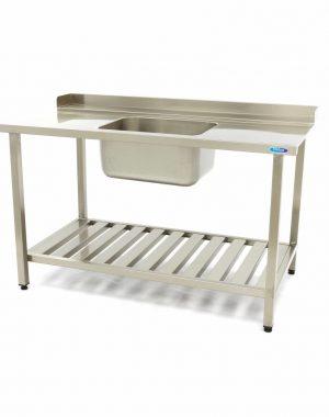 Umývací stôl s umývadlom - 1200x750 mm - vpravo | Maxima 09201031