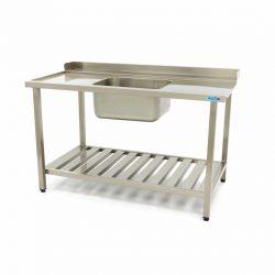 Umývací stôl s umývadlom - 1600x750 mm - vľavo | Maxima 09201035