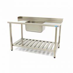 Umývací stôl s umývadlom - 1600x750 mm - vpravo   Maxima 09201041