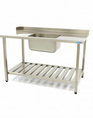 Umývací stôl s umývadlom - 1600x750 mm - vpravo | Maxima 09201041