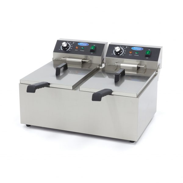 Elektrická fritéza 2x11 l Maxima 09365227