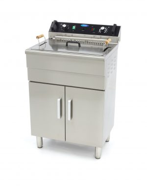 Elektrická fritéza 30 l + spodná skrinka Maxima 09365232