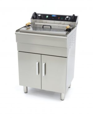 Elektrická fritéza 35 l + spodná skrinka Maxima 09365233