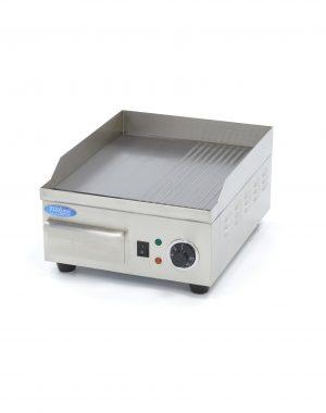 Elektrická grilovacia platňa 36 cm - hladká ryhovaná Maxima 09365160