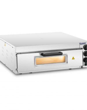 Elektrická pec na pizzu - 1 komora | RCPO-2000-60-1 umožňuje vám pripraviť horúcu a chrumkavú pizzu (tiež mrazenú), pizzu, chlieb naan alebo kastróly