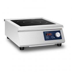 Indukčný varič | 33 cm 5000 W je kompaktné vybavenie, nezaberá veľa miesta a umožňuje vám pripraviť širokú škálu jedál.