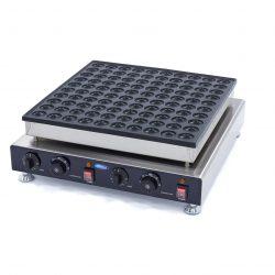 Palacinkovač na mini palacinky Poffertjespan-100ks|Maxima09374132 má hliníkový pekáč s nepriľnavým povrchom,ktorý zaisťuje dobré vedenie tepla