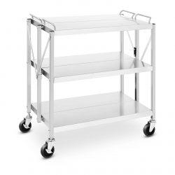 Servírovací vozík - skladací 90 kg - 500 x 830 mm RC-FST880G